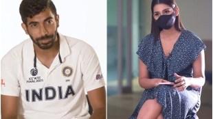 Jasprit Bumrah Sanjana Ganesan Wife Marriage WTC Final India vs New Zealand