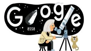 Margherita Hack, मार्गेरिटा हैक, Margherita Hack google, Margherita Hack google doodle,