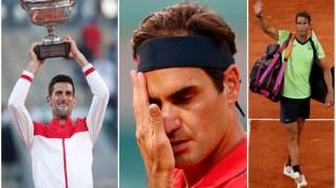 Novak Djokovic, Roger Federer, Rafael Nadal