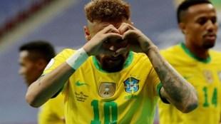 Copa America 2021, Brazil v Venezuela, Neymar