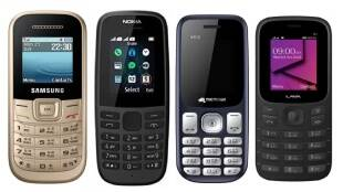 Which is the cheapest Nokia phone, Which is best feature phone, Micromax Feature phone price, LAVA feature phone