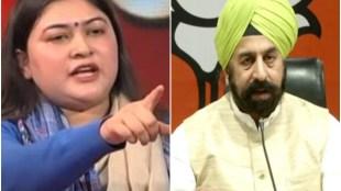 ragini nayak, aaj tak debate show, RP Singh