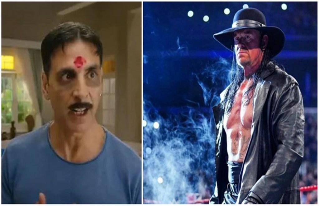 the undertaker vs akshay kumar