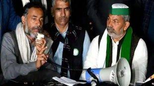 Rakesh Tikait, Yogendra Yadav