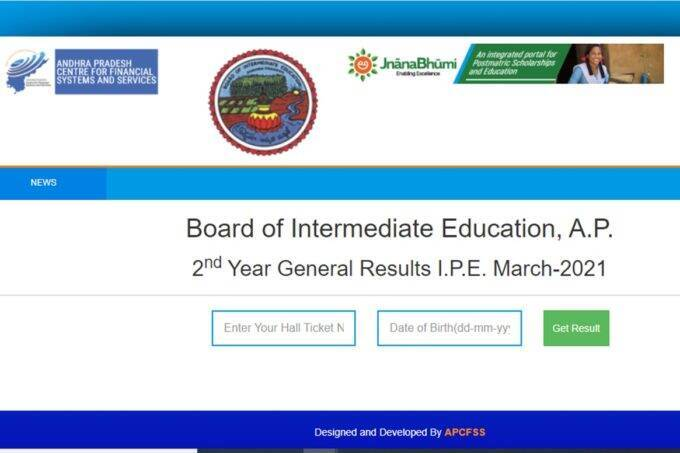 Manabadi AP Inter 2nd Year Results 2021 declared at www.bieap.gov.in, results.cgg.gov.in, manabadi.com,