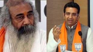 Gaurav Bhatia, Acharya Pramod, News 18 India
