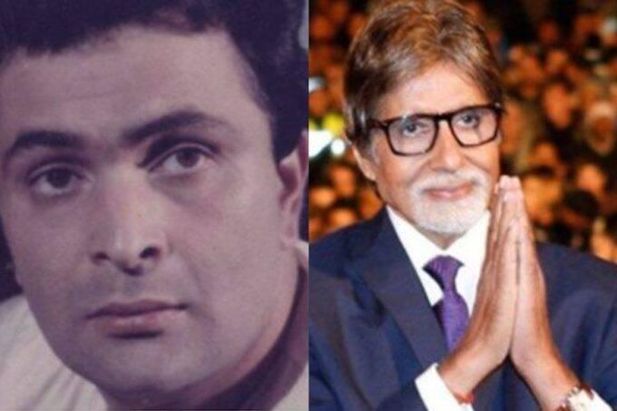 Rishi Kapoor, Rishi Kapoor Refused to Work With Amitabh Bachchan, Mega Star Amitabh Bachchan,