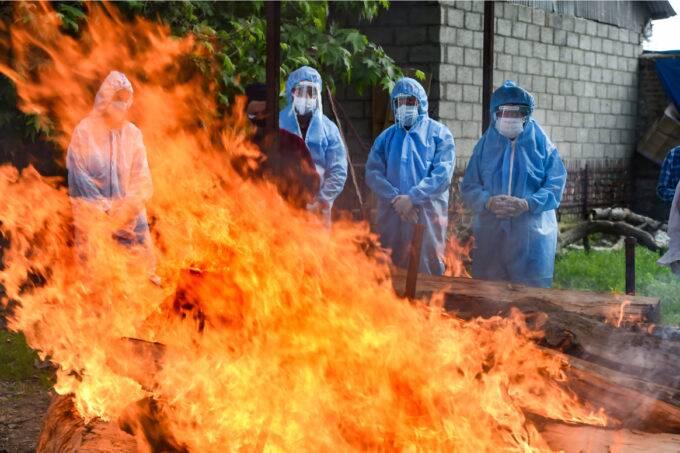 COVID Cremation, Srinagar, India News