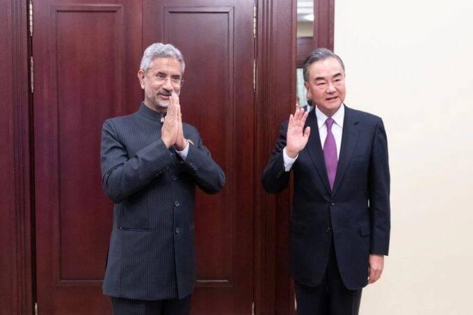 S Jaishankar, Wang Yi