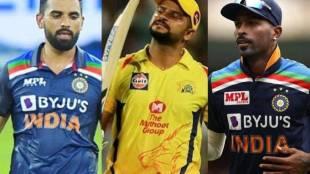 Deepak Chahar Suresh Raina Hardik Pandya India vs Sri Lanka Ind vs SL
