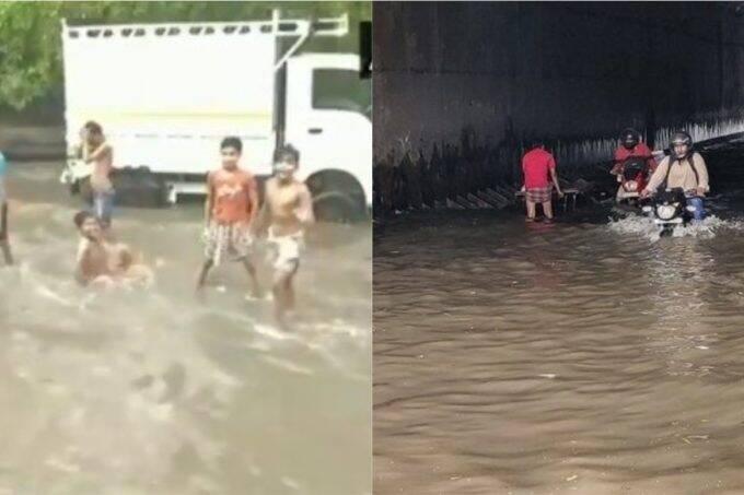 Delhi, Delhi Rain ,AAP