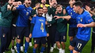 EURO 2020 Semi Final Italy beat Spain Book Final Spot