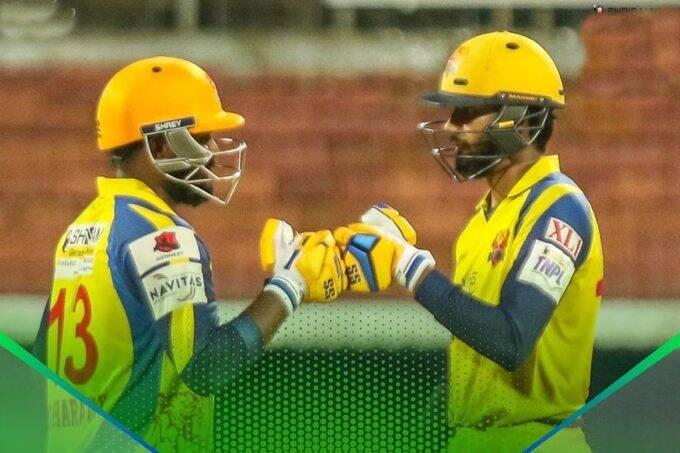 Hari Nishaanth Mani Bharathy TNPL Dindigul Dragons Lyca Kovai Kings Tamil Nadu Premier League 2021