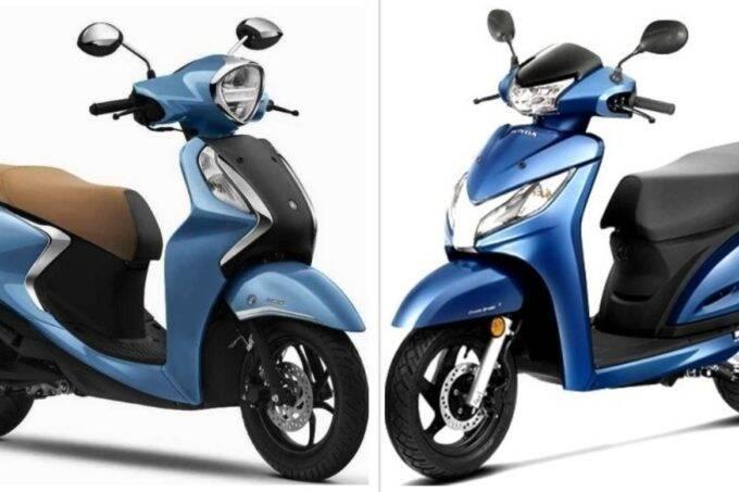 Honda Activa vs Yamaha Fascino
