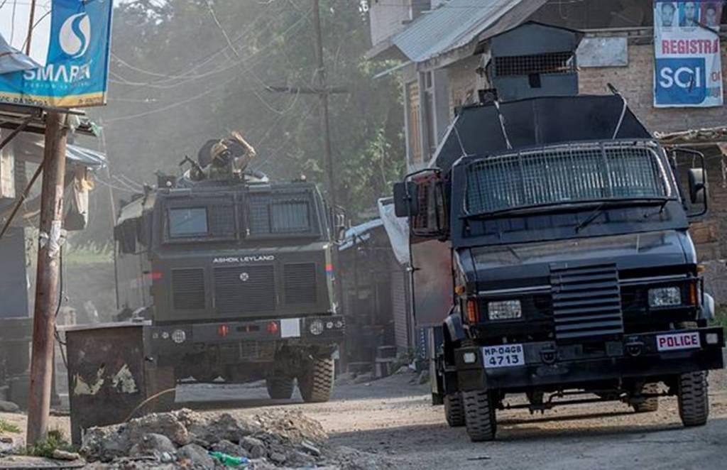 Pulwama, Terrorists Encounter