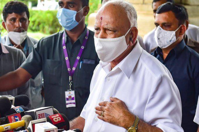 Karnataka CM BS Yediyurappa, BS Yediyurappa Resign, Resignation Yediyurappa