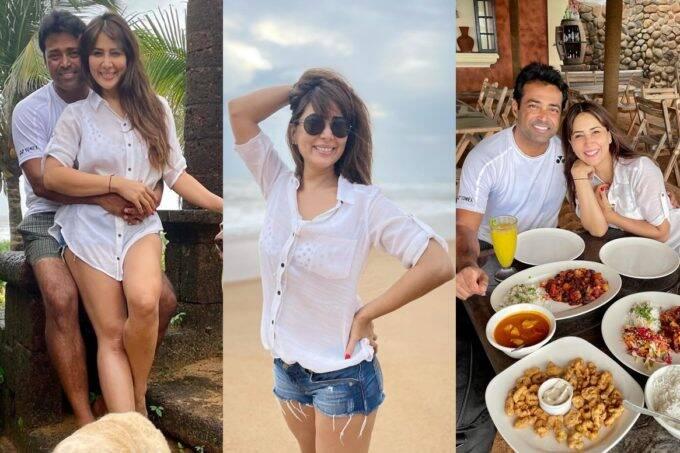 Leander Paes dating Bollywood star Kim Sharma