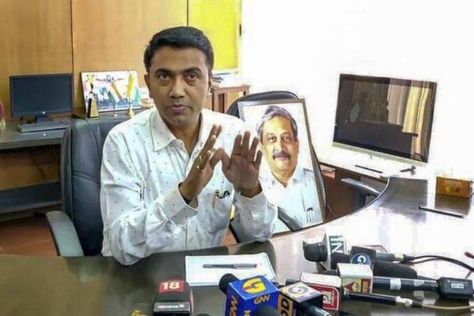 Pramod Sawant, Goa CM