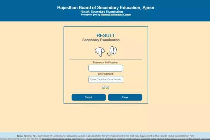 rbse, rbse 10th result, rbse 10th result 2021, rajasthan board 10th result 2021, rajasthan board result 2021,