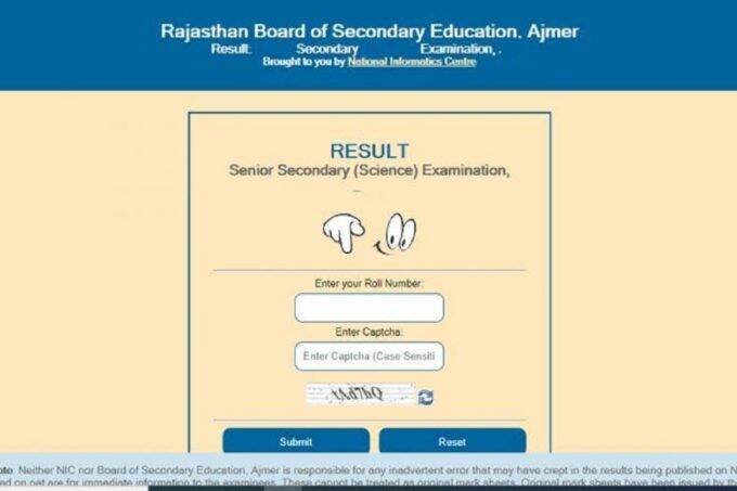 rbse, rbse 12th result, rbse 12th result 2021, Rajasthan board 12th result 2021, rajasthan board result 2021, rbse 12th result 2021 science