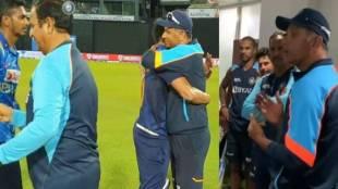 Rahul Dravid Deepak Chahar SuryaKumar Yadav Bhuvneshwar Kumar India vs Sri Lanka