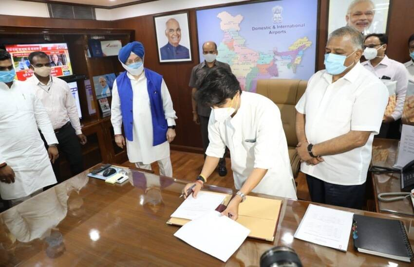 Jyotiraditya Scindia, Cabinet