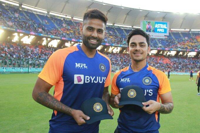 Suryakumar Yadav Ishan Kishan India vs Sri Lanka ODI Debut