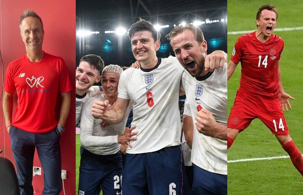 UEFA EURO 2020 Michael Vaughan England vs Denmark Harry Kane