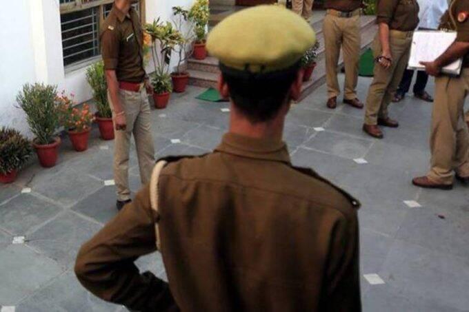 RSS, RSS Baghpat, UP Police, Police Men Suspend, Police Men Suspend in Baghpat,