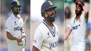 Virat Kohli, Rohit Sharma, Jasprit Bumrah