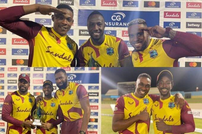 West Indies vs Australia 5th T20I Live Cricket Score Daren Sammy National Cricket Stadium