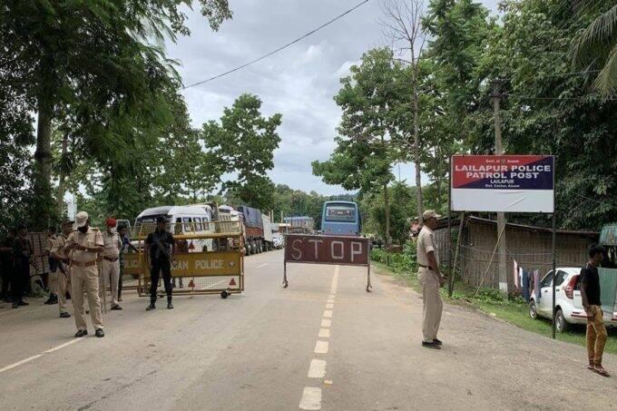Assam Police, Mizoram