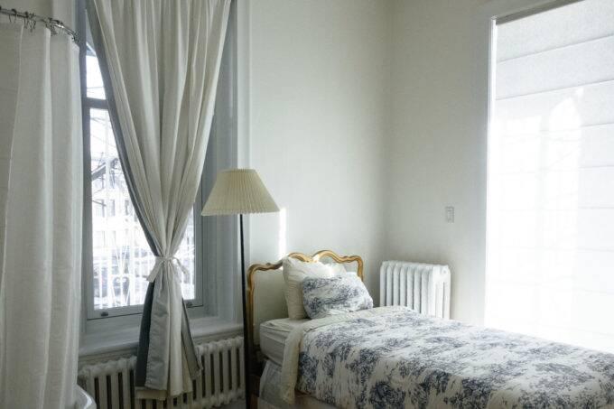 bed, bedroom
