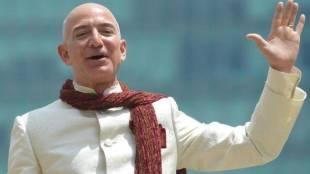American industry titan, Jeff Bezos, Amazon CEO, Blue Origin space company, Washington Post