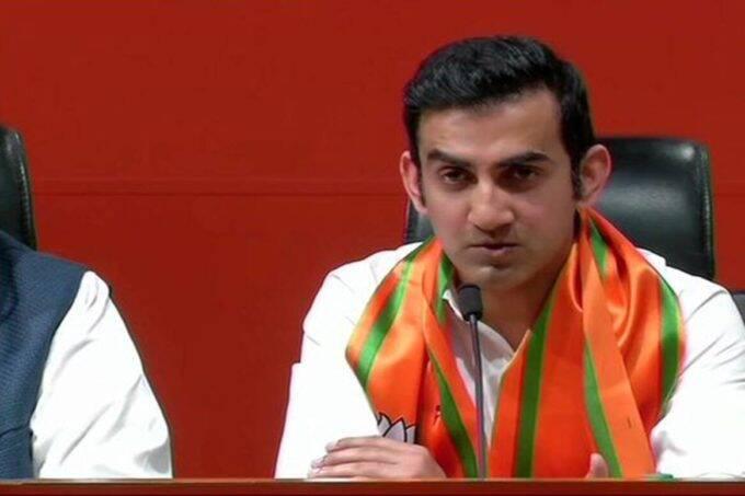 Gautam Gambhir, BJP MP, 1 year report card, trolled on social media