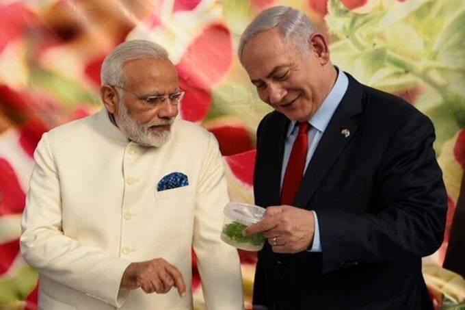 Narendra Modi, Benjamin Netanyahu
