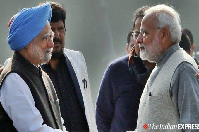 Manmohan Singh, Narendra Modi