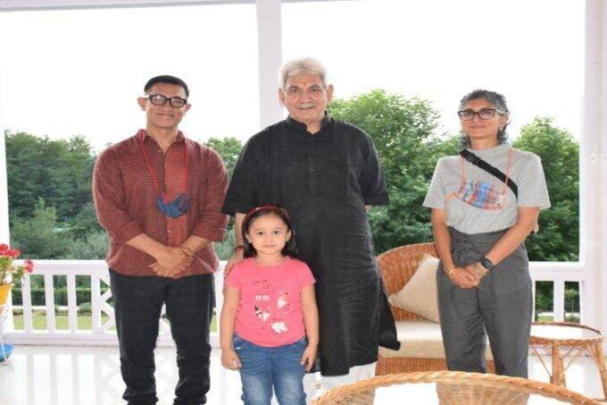 Bollywood Actor, Kashmir
