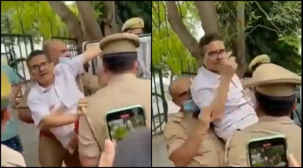 Amitabh Thakur Arrest