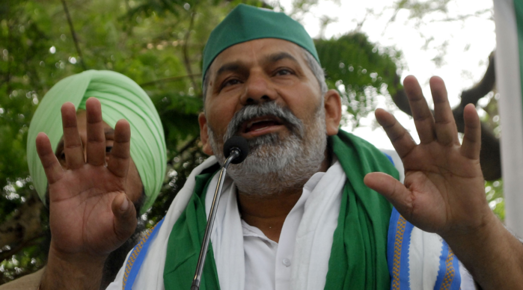 Rakesh Tikait, BKU, National News