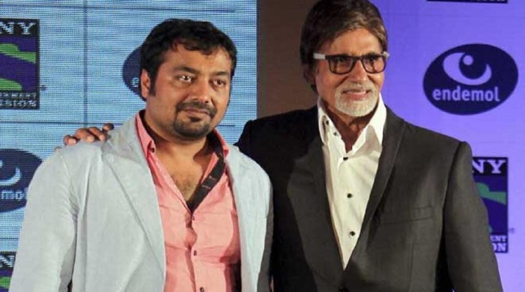 Anurag Kashyap/Amitabh Bachchan