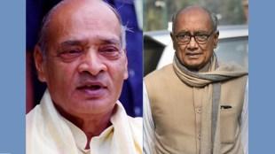 Former MP CM Digvijay Singh and Former PM PV Narsimha Rao