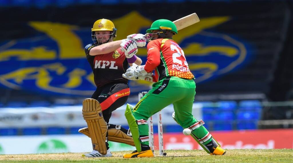 CPL 2021, guyana amazon warriors, cpl 2021 live streaming, Guyana Amazon Warriors vs Trinbago Knight Riders, Shimron Hetmyer, West Indies cricket team, T20 cricket, Odean Smith, Carribean premier league, GAW vs TKR, Guyana beat Trinbago, Cricket News, Twenty20, Basseterre, 1st Match of CPL 2021, CPL score, सीपीएल 2021, शिमरोन हेटमायर, ओडियन स्मिथ, गयाना अमेजन वॉरियर्स, त्रिनबागो नाइट राइडर्स, सीपीएल 2021 मैच 1, कैरेबियाई प्रीमियर लीग, वेस्टइंडीज, ट्वेन्टी ट्वेन्टी, टी20 क्रिकेट, वेस्टइंडीज क्रिकेट टीम, क्रिकेट समाचार, गुयाना अमेजन वॉरियर्स बनाम त्रिनबागो नाइट राइडर्स, शाहरुख खान की सीपीएल टीम