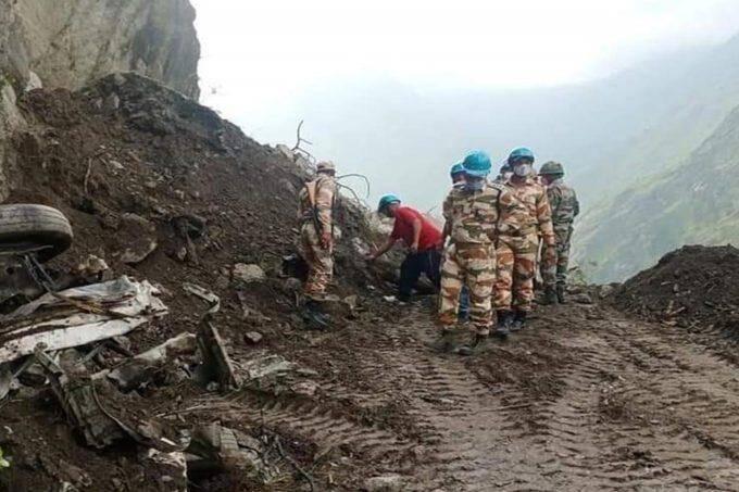 Himachal Pradesh,Kinnaur landslide
