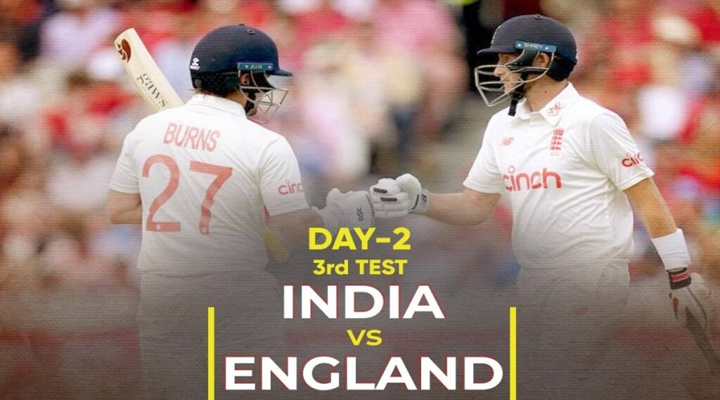 India vs England 3rd Test 2nd Day Live Cricket Score Online