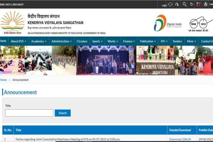 kvsangathan.nic.in, KVS kota admission, KVS fees, KVS fee structure, KVS, kvs recruitment,
