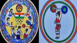 colour-blind-kundan-kumar-made-colorful-paintings-to-congratulate-indian-medal-winners-in-tokyo-olympics