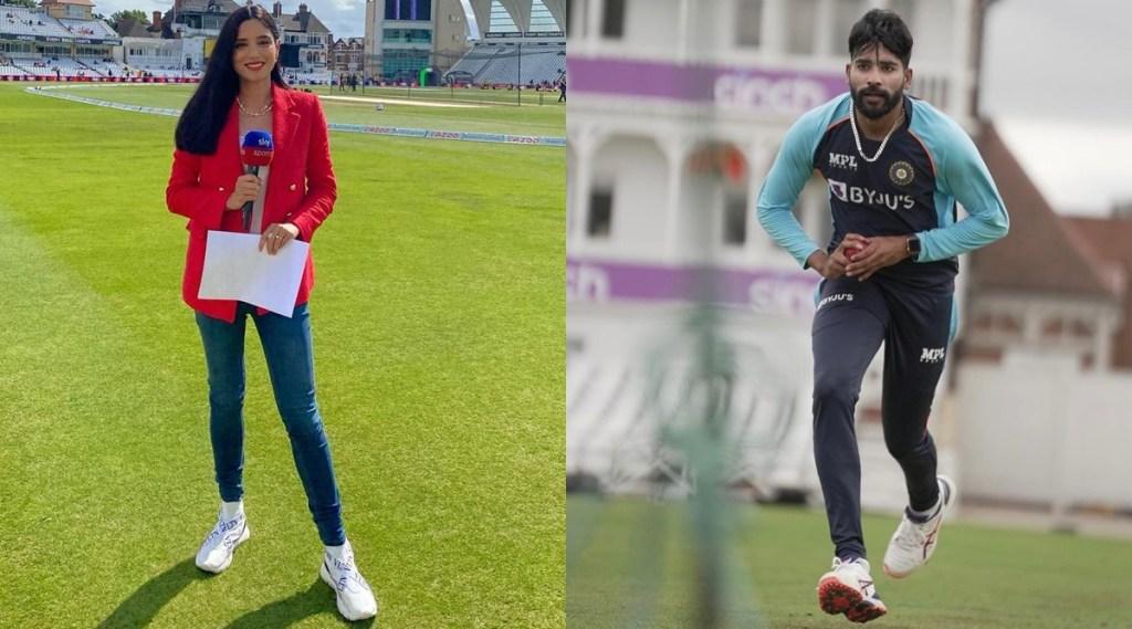 Mohammed Siraj Zainab Abbas India vs England Pakistan Anchor Sports Journalist