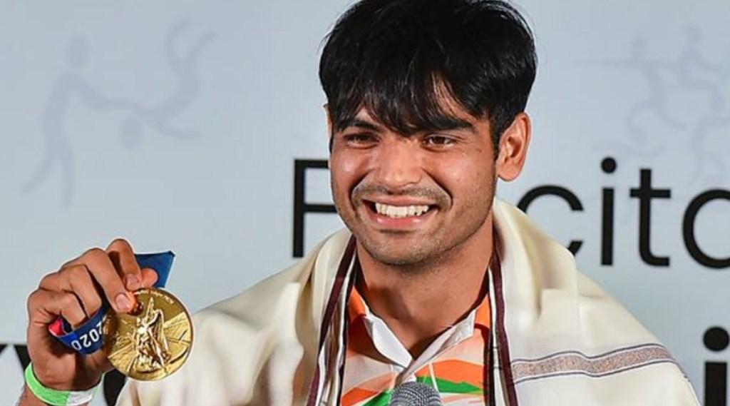 Neeraj Chopra Gold medalist Tokyo Olympics felicitation ceremony