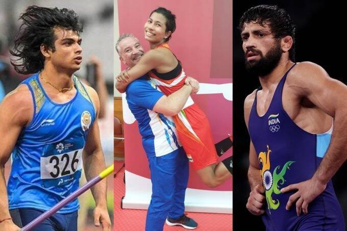 Neeraj Chopra Lovlina Borgohain Ravi Dahiya Tokyo Olympics Medal Tally